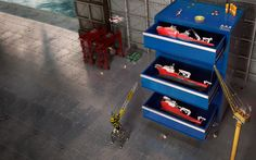 Work at EMAS AMC – Our engineers play with bigger tools