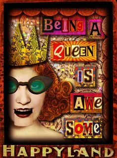 'Being A Queen' © Beth Todd 2014 Play therapy with Tumble Fish Studio's fabulous ' My Little Queendom' kit (with the help of a few other bits from my stash ) http://www.deviantscrap.com/shop/product.php?productid=21899cat=0page=1