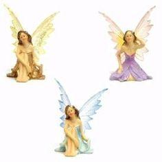 Figurine: Fairy Figurines - Baby Feathers