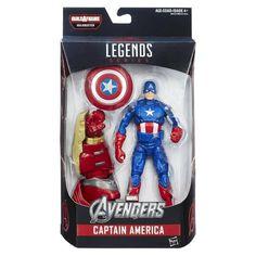 Marvel Legends: Avengers Age of Ultron Captain America Action Figure