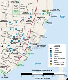 charleston free downtown trolley vacation pinterest