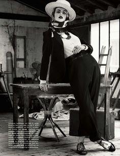 """Folk Dandy"" - Vogue Germany May 2013. Photography: Giampaolo Sgura / Stylist: Christiane Arp"