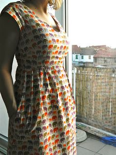 Washi dress with underbust dart. Kelly Jade: Spring Ready dress!