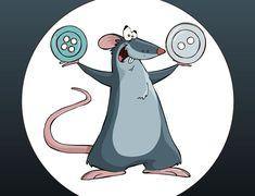 Cuento : El ratón que cosía botones