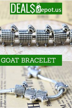 Love your Goats? Show it! Get your Goat Bracelet for under ten dollars.