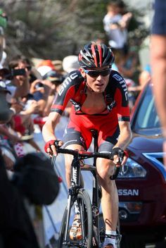 Tejay van Garderen (BMC) limited his losses during the extreme temperatures and is second in the GC