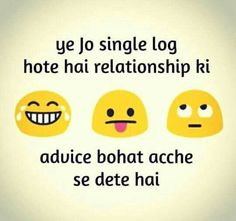 Sahi baat h Funny Memea, Funny Qoutes, Funny Facts, Crazy Funny, Besties Quotes, Girly Quotes, Cute Quotes, Emoji Quotes, Jokes Quotes