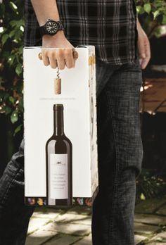 Wine, Vinho, Embalagem, Wine pacas, wine packaging, Vinho Pão de Açúcar, Vinho Supermercado, Wine Bag Idea  wine / vino mxm