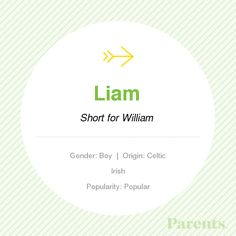 Baby Name: Liam