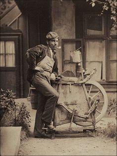Wiener-Typen-1873-Scherenschleifer-Arrotino