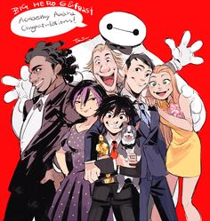 I actually hated Feast, but congrats Big Hero 6!!! Never was I more proud. :)