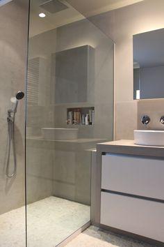clou - wash me badkamer concept. badkamer vloertegels zijn licht, Badkamer