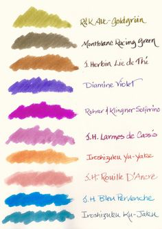Summer Palette 2010 by inkophile, via Flickr