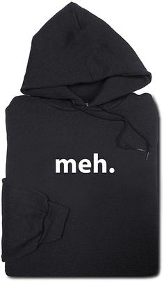 ThinkGeek Meh Hoodie  Ten for the Weekend: Geeky Apparel, Free E-Books, Super Rad Shoes and More!