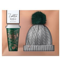 Zoella Warm & Toasty Live the life you love with the Zoella collection of home and lifestyle products, designed just for you. Get cosy from the inside out with this stylish on-the-go mug and Beanie hat. Perfect for braving the chilly winter weather. Youtuber Merch, Youtubers, Zoella Lifestyle, Sugg Life, Zoella Beauty, Birthday Charts, Zoe Sugg, Christmas Gifts For Her, Christmas Ideas