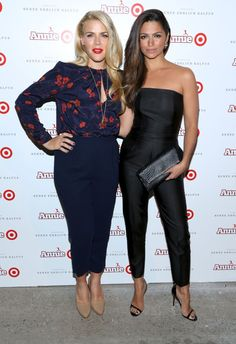 Pin for Later: Can't-Miss Celebrity Pics!  Busy Philipps and Camila Alves amped up excitement for the Annie for Target collection at the launch event in NYC on Tuesday.