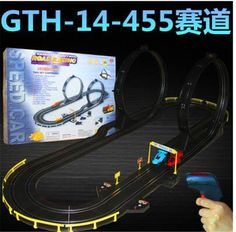 77.91$  Watch here - http://ali4ey.worldwells.pw/go.php?t=32691539058 - High speed car slot racing toys 455cm track lenght children electric double racing game toys gift