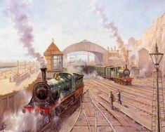 Railroad by Alan Fearnley.