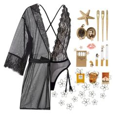 """home"" by helooksoperfc ❤ liked on Polyvore featuring Lipsy, L'Agent By Agent Provocateur, Jayson Home, Chanel, women's clothing, women's fashion, women, female, woman and misses"