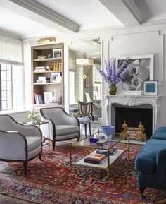 Check out Emmy Rossum's home! Only at interiorcollective.com