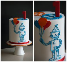 Couture Cupcakes & Cookies: Robot Cake