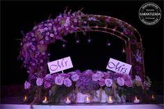 Arco y Centro de Mesa floral   #arreglos #Florales #arrangements #flowers