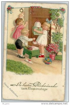 Postcards > Topics > Illustrators & photographers > Illustrators - Signed > Ebner, Pauli - Delcampe.net
