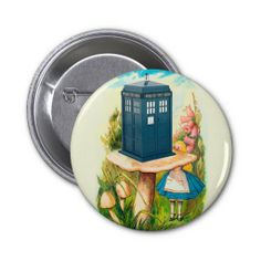 Further, and further down the rabbit hole... Alice in Wonderland Meets a Police Call Box Button