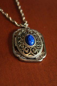 Family Decor Auto Focus Cyber Shot Pendant Necklace Cabochon Glass Vintage Bronze Chain Necklace Jewelry Handmade