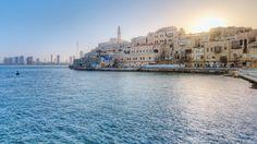Puerto de Jaffa, hermoso! #Viajeaccesible http://www.travel-xperience.com/turismo-accesible/israel