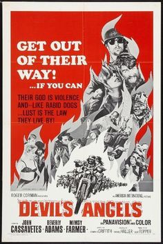 I just added some cool Movie Posters from the 60's to my Ebay store. Genres and themes for everybody! All available for purchase - just click the link below.  DEVIL'S ANGELS-1967 orig 27x41 MOVIE POSTER-BIKERS & BAD GIRLS-ROGER CORMAN film