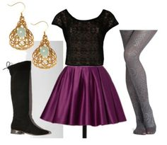 Ursula inspired outfit from Disney Little Mermaid when she is taking over the sea