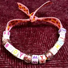My Body My Choice bracelet. Pro-choice by TeamWollstonecraft