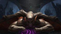 Summoning is tough!, Nick Nestor on ArtStation at https://www.artstation.com/artwork/summoning-is-tough