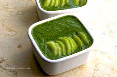 www.livinglifemarketplace.com キウイとチアシードのグリーンプディング - Kiwi Chia Green Pudding - #rawfood #rawvegan #superfood