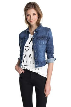 "Esprit denim jakke ""denim #esprit"