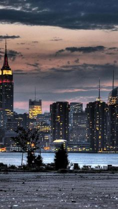 ✯ Empire State Building at Night - New York, NY