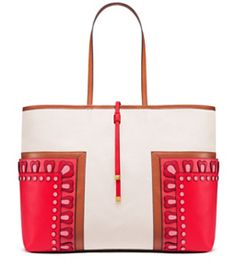 Tory Burch Block-t Appliqué Large Tote