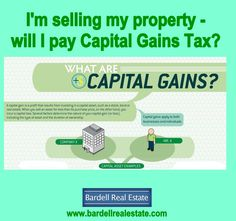 I'm selling property in Orlando, FL. - will I pay Capital Gains Tax? read more information here: http://www.bardellrealestate.com/?p=17101