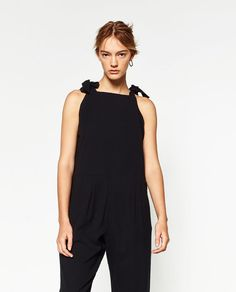 ZARA - WOMAN - DUNGAREES WITH SHOULDER DETAIL