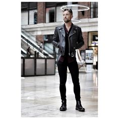 Stanley Dru is a successful businessman who runs a luxury grooming products company and a very popular fashion and lifestyle blogger. Male Fashion, Fashion Bloggers, Bad Boys, Wardrobe Staples, Black Boots, Punk, Leather Jacket, Popular, Lifestyle
