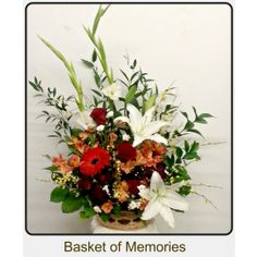 Sympathy and Funeral Flowers Three Hills AB Florist Funeral Flowers, Flower Delivery, Floral Wreath, Wreaths, Plants, Basket, Memories, Decor, Decoration