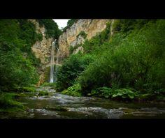 Blihe Waterfall, Sanski Most, Bosnia and Herzegovina