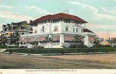 Savidge-McCormick-Residence-ALLENHURST-NJ-Rare-Old-Postcard-1910