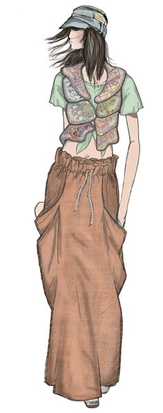 JAA DESIGN original fashion illustration. Illustration Mode, Fashion Illustration Sketches, Fashion Sketches, Drawing Fashion, Fashion Prints, Fashion Art, Fashion Models, Fashion Design, Fashion History
