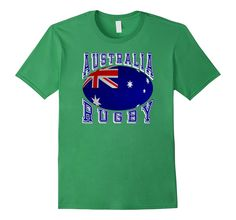 #Australia Rugby Fans National Flag #Rugby Ball Bold Collegiate Text #TShirt Support your #Rio2016 teams #rugby7s #olympics  http://amzn.to/29nRwiv