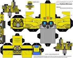 Sci-Fi Cubeecraft   Bumblebee