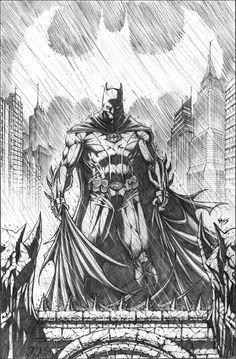 Batman by Tony Vassallo
