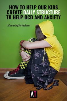 During these difficult times when kids are home more and socializing less, here are some tips for creating structure to help your child or teen with OCD or anxiety. With the amount of time spent online these days, these tips can help you create structure for your child. Ocd In Children, Anxiety In Children, Adhd Kids, How To Calm Anxiety, Stress And Anxiety, Youtube Videos For Kids, Anxiety Relief, Coping Skills