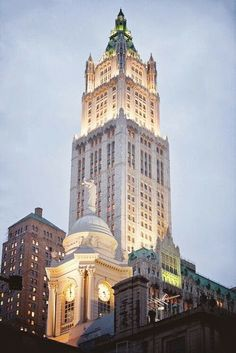 The iconic Woolworth Building in NYC, once the world's tallest building, is being converted into luxury apartments - including a five story property in the top of the tower!